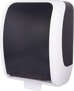 Cosmos Handtuchrollenspender Autocut weiß/schwarz