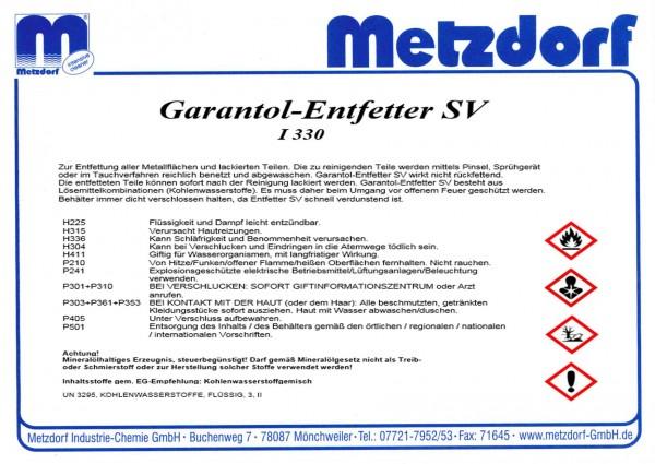 Garantol Entfetter P I 330 60 Ltr.