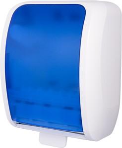 Cosmos Handtuchrollenspender Autocut weiß/blau