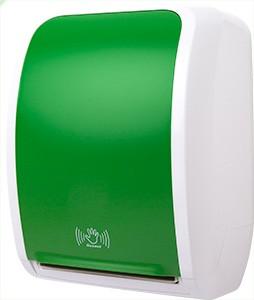 Cosmos Handtuchrollenspender Sensor weiß/grün