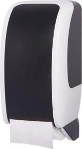 Cosmos Toilettenpapierspender weiß/schwarz