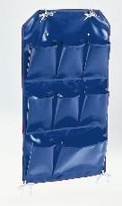 PVC-Utensilientasche, Farbe blau