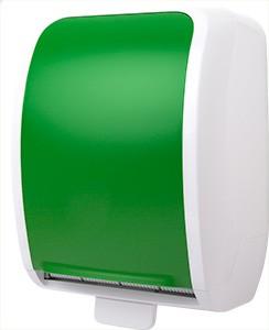 Cosmos Handtuchrollenspender Autocut weiß/grün