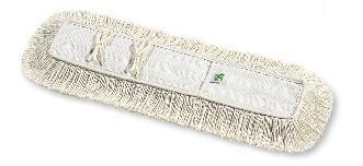 Baumwollfeuchtwischmopp mit Bändern 80 cm