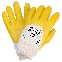 NITRAS Nitrilhandschuhe, gelb, Größe XL