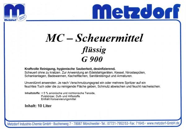Scheuermittel flüssig G 900 750 ml