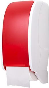 Cosmos Toilettenpapierspender weiß/rot