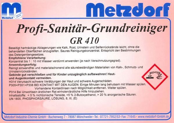 Sanitär-Grundreiniger GR 410 1,2 kg