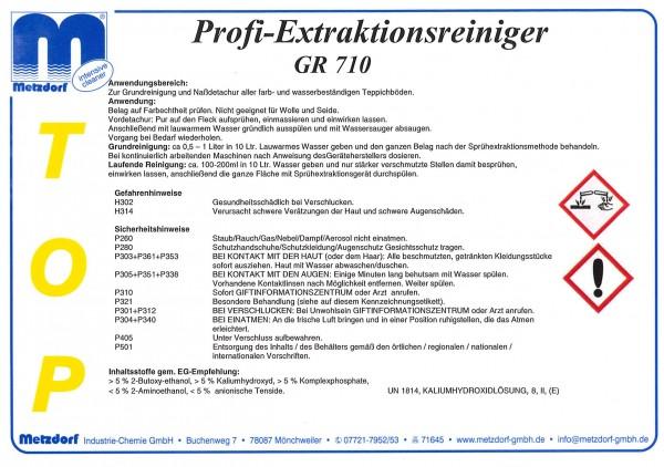 Extraktionsreiniger GR 710 1 kg