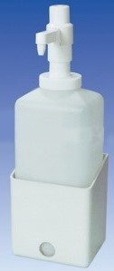 Wandhalterung für 2.500 ml-Spender-flasche,Kunststoff