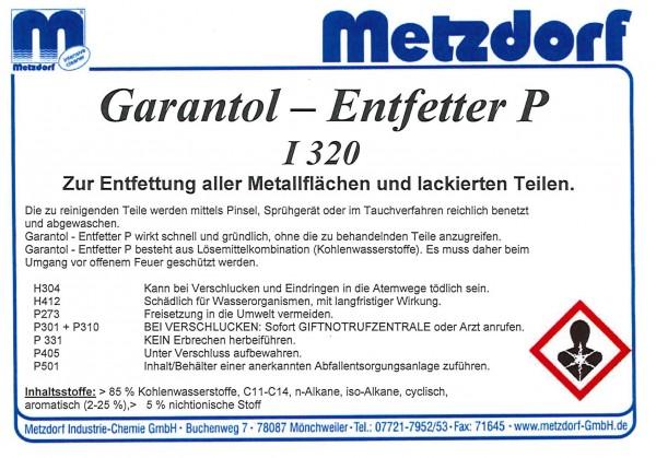 Garantol Entfetter P I 320 60 Ltr.