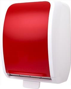 Cosmos Handtuchrollenspender Autocut weiß/rot