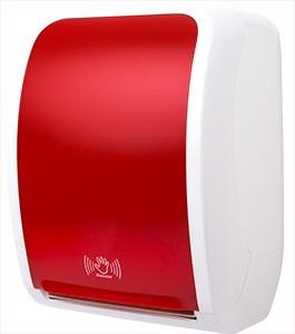 Cosmos Handtuchrollenspender Sensor weiß/rot