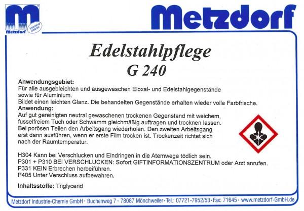 Edelstahlpflege G 240 1 Ltr.