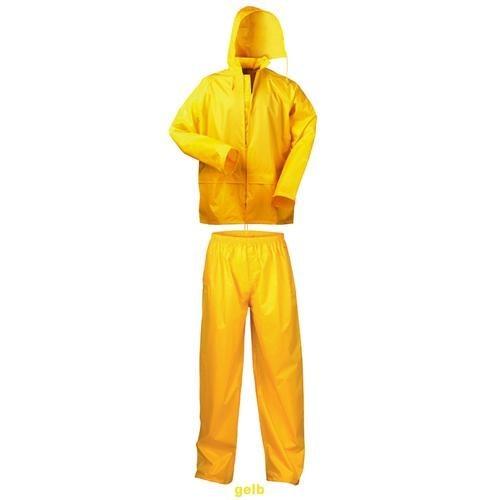 Regen-Anzug, 2-teilig Jacke mit Kapuze XL